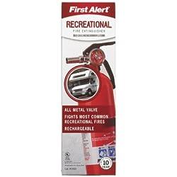 First Alert Rec5 Rechargeable Recreational Fire Extinguisher