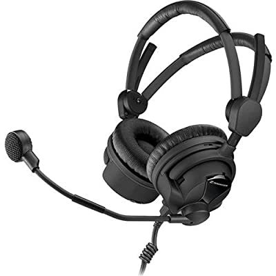 Sennheiser HMD 26-II-600-8 Broadcast Headset, 600 Ohm Impedance, ActiveGard, Dynamic Microphone from Sennheiser
