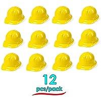 Hats Soft Plastic Construction Helmets Hat - 12 Hats Per Order Super Party Hats