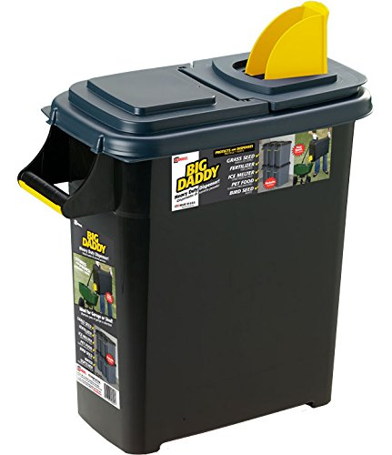 Daddy Heavy Dispenser Container Yellow
