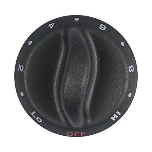 kitchen aid cooktop knob - 9