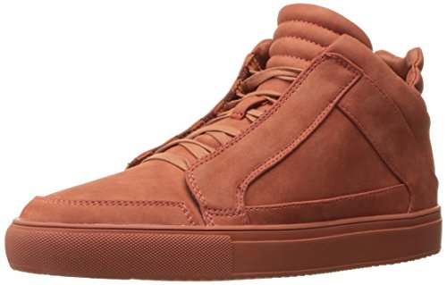 Steve Madden Men Defstar Fashion Sneaker Rust Nubuck