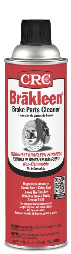 - CRC Brakleen Brake Parts Cleaners, 20 Oz, Pack of 12 Cans