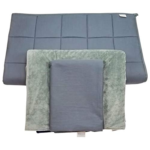 Cheap Papen Designs Adult Weighted Blanket with 2 Covers 20lbs 60x80