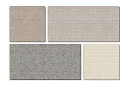 """ADW Acoustic Panels 73"""" X 49"""" X 1"""" Mondrian Kit – Quick Easy DIY Install - Various Color Combos Diffuser Bounce Panels"""