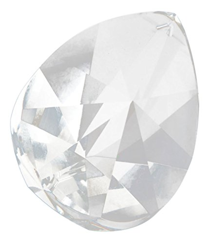 Asfour 76mm Crystal Teardrop Suncatcher Crystal Prisms #873-76