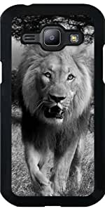 Funda para Samsung Galaxy J1 - León by WonderfulDreamPicture