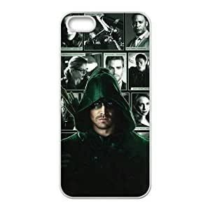 HXYHTY Diy Green Arrow Selling Hard Back Case for Iphone 5 5g 5s