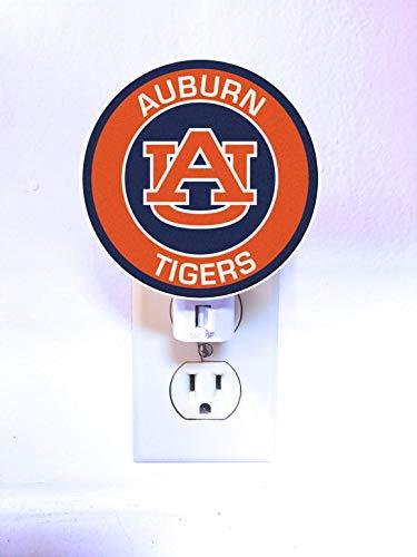 Auburn Tigers Night Light : LED Plastic Plug-In Nightlight/Lamp