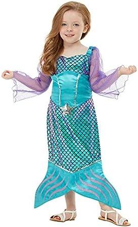 Funidelia Disfraz de Sirena para niña: Amazon.es: Juguetes y juegos