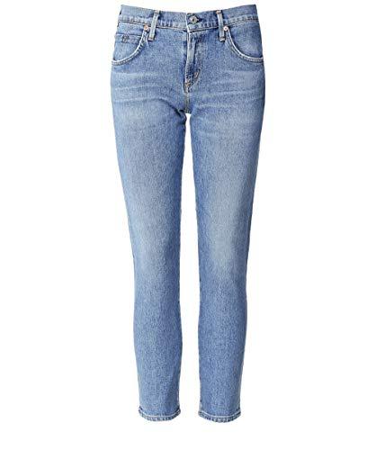 Rise Donna Tagliati Jeans Mid Da Blu Elsa Of Humanity Citizens YPwB4q