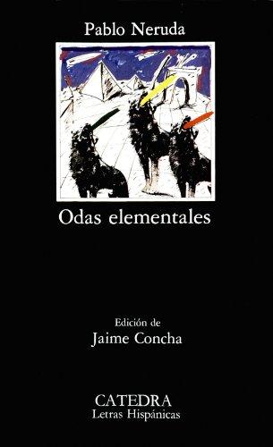 Odas elementales (COLECCION LETRAS HISPANICAS) (Spanish Edition)