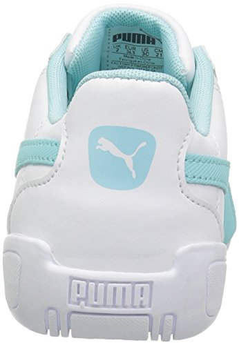 PUMA Unisex-Kids Tune Cat 3 Sneaker, White-Island Paradise, 11 M US Little Kid