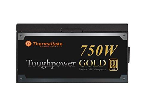 Thermaltake TOUGHPOWER 750W 80 PLUS GOLD Semi Modular Power Supply PS-TPD-0750MPCGUS-1 by Thermaltake (Image #1)