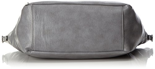 Tom Tailor Denim Glori Shopper Bolso totes 49 cm gris