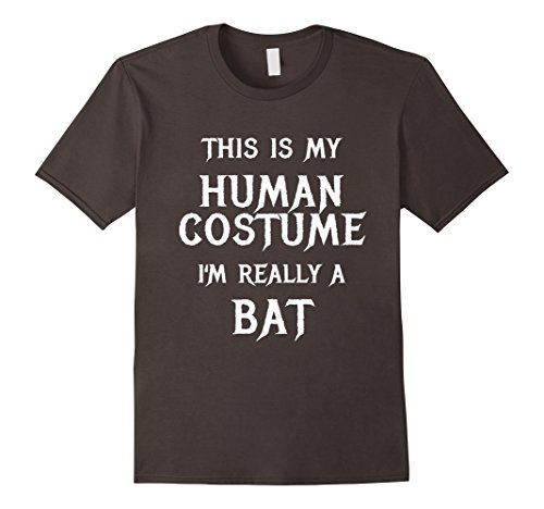 Mens I'm Really a Bat Halloween Costume Shirt Funny Men Women Kid Large (Funny College Halloween Costumes Ideas Men)