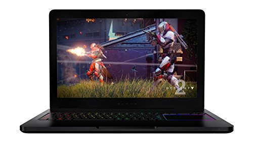 "Razer Blade Pro Gaming Laptop - 17.3"" 120Hz Full HD display, Quad-Core Intel Core i7-7700HQ, GeForce GTX 1060 (VR Ready), 16GB RAM, 256GB SSD + 2TB HDD"