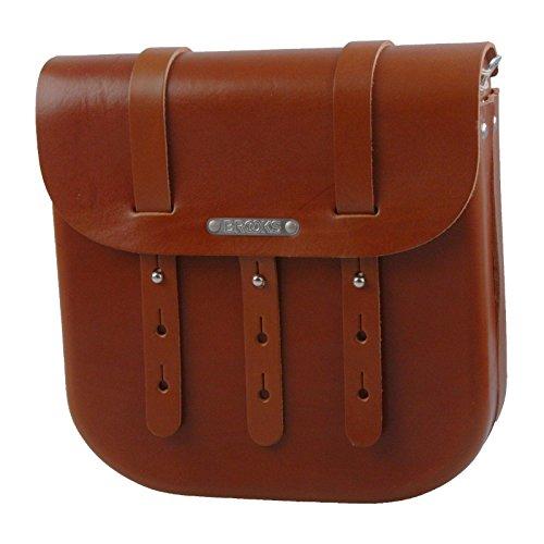 Brooks B3 Leder Fahrrad Tasche groß / large Leather Bag Schulter Umhänge, 800605, Farbe honig