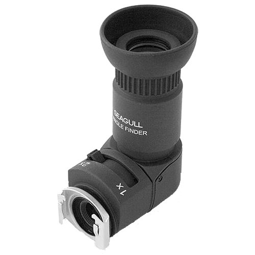 Seagull 1x-2x Right Angle Finder for Canon, Nikon, Pentax, Minolta, Fuji, Olympus and Leica SLR Cameras by Seagull