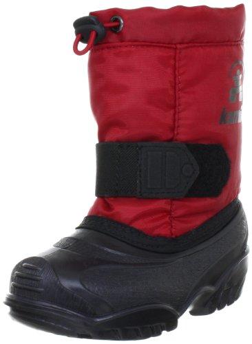 Kamik Tickle NK9341 - Botas de nieve infantiles Rojo