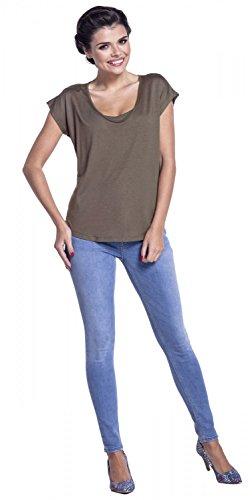 T Maniche Donna Cachi Allattamento Zeta A shirt Ville Corte Disegno 943c Strati p51wqxS6q