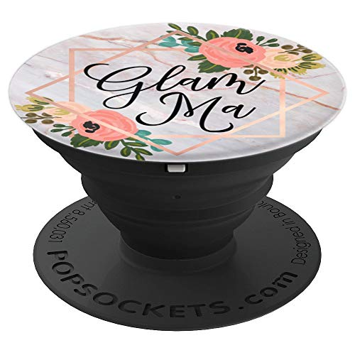 Glam Ma Glamorous Grandma Rose Pink PZZZ070 - PopSockets Grip and Stand for Phones and Tablets