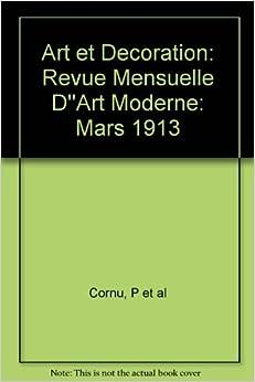 Art et decoration revue mensuelle d 39 39 art moderne mars for Revue decoration