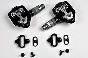 Wellgo RC-713 Clipless Alloy Shimano SPD Style Road 9 16 Pedals Black