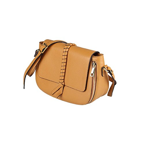 OBC Only-Beautiful-Couture - Bolso al hombro para mujer rosa altrosa ca.: 17x25x10 cm (BxHxT) coñac