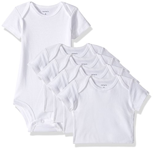 Carters-Baby-Multi-Pk-Bodysuits-126g387-White-6-Months