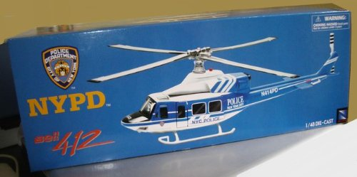 Bell 412 - NYPD - NYC police Helicopter - 1/43 scale - (Bell 412)