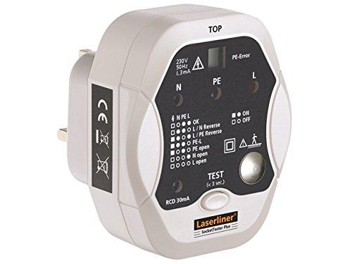 Laserliner - Socket Tester Plus - Professional Wiring & RCD Tes