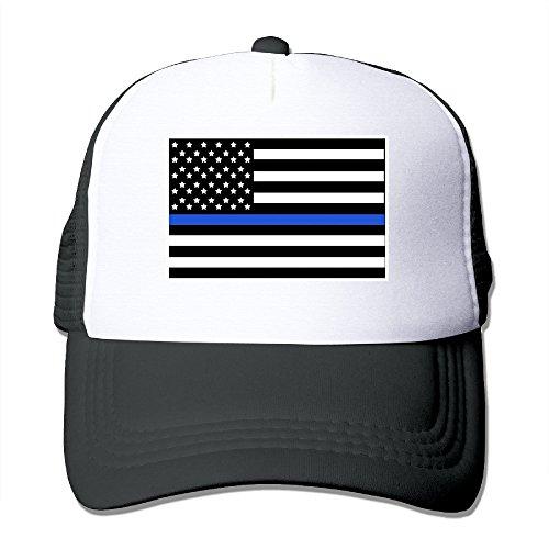 Price comparison product image Uikea Unisex Trucker Mesh Hat American Flag Snapback Cap