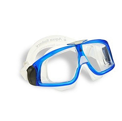 Sphere Swim Mask Seal Aqua (Aqua Sphere Seal 2.0 Goggle With Clear Lens)