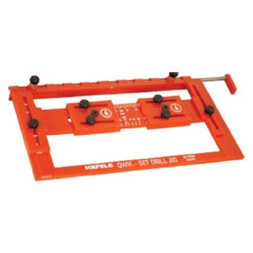 Hafele - Quick-Set Drilling Jig for Handles (Hafele Door Hardware)