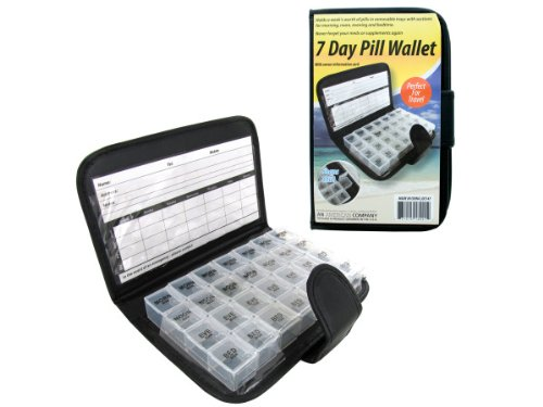 7 Day Pill Wallet, Case of 24