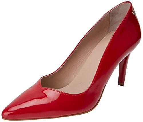 Martinelli WoMen Selena 1365-3488p Closed Toe Heels, Red Red (Rojo Rojo)
