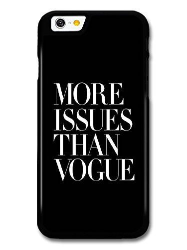 FavorPlus More Issues Than Vogue Apple iPhone Custom Case iPhone 7 Plus 5.5 inch Durable Snap on 3D