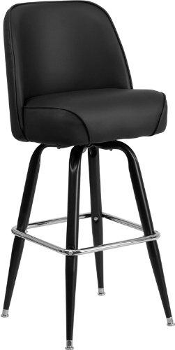 Metal Bar Stool Swivel Bucket Seat