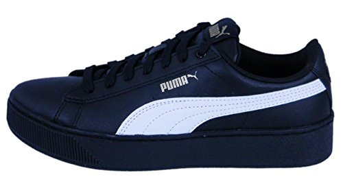 Femmes Cuir Lisse Platform Vikky SL Sneaker High Puma qHxTzpwaa
