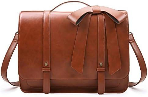 ECOSUSI Briefcase Backpack Shoulder Detachable