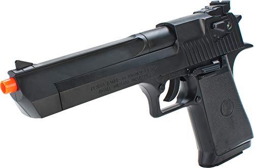 Evike Desert Eagle Licensed Magnum 44 Airsoft Pistol (Color: Black)
