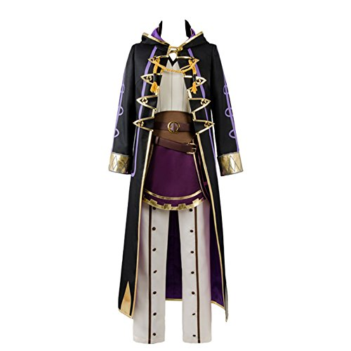 COSTHAT Fire Emblem Awakening Avatar Reflet Robin Daraen Hero Cosplay Costume Coat Suit]()