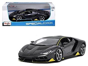 Maisto 1 18 Special Edition Lamborghini Centenario Grey Diecast