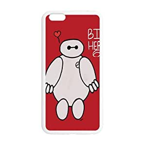 STYLE-UM@ Custom Cover Shell for iphone 6 Plus (5.5 inch) TPU with Big Hero 6 Design (White or Black)
