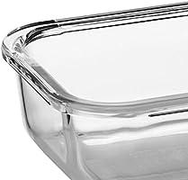Komax horno y cacerola de cristal para el horno Set de 2 - Gran ...