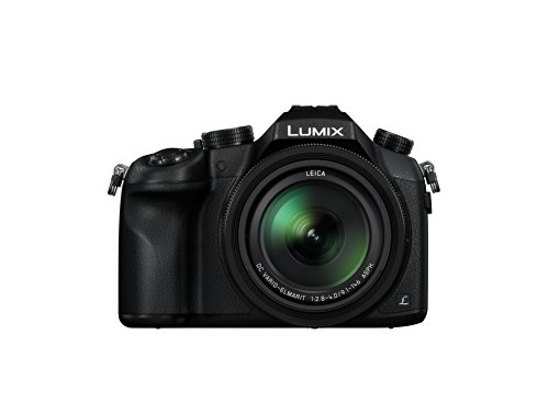 Panasonic LUMIX DMC-FZ1000 Camera, 21.1 Megapixel, 1-inch Sensor, 4K Video, Leica Lens 16X F2.8-4.0 Zoom (Black)
