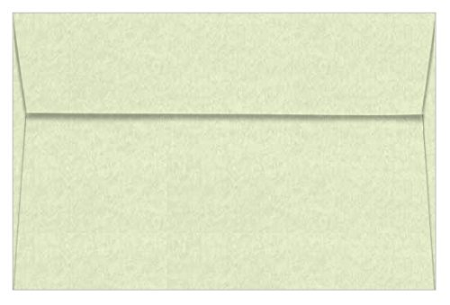 A9 Astroparche Celadon Envelopes - Straight Flap, 60T, 1000 Pack