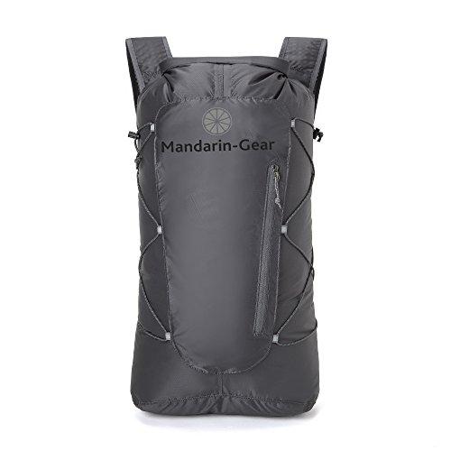 Mandarin-Gear - Ultralight - Waterproof - Hiking Backpack -Day & Dry Back Pack 21 Liter by Mandarin-Gear