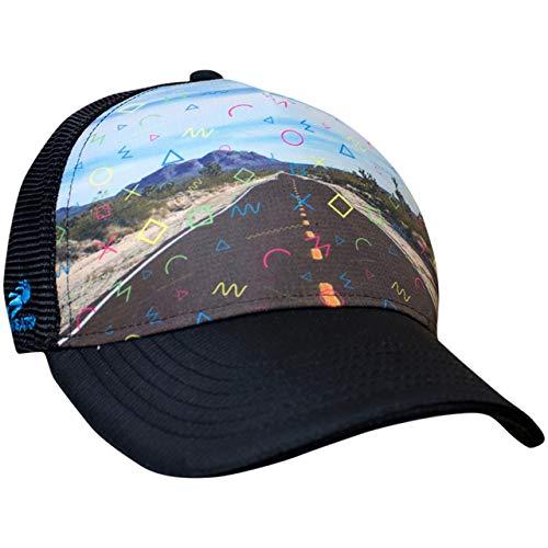 Headsweats Performance Trucker Hat (One Size, Desert Roadtrip)